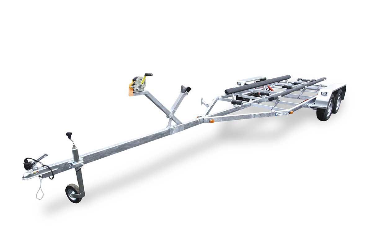 ЛАВ 81014В – двухосный прицеп без тормоза